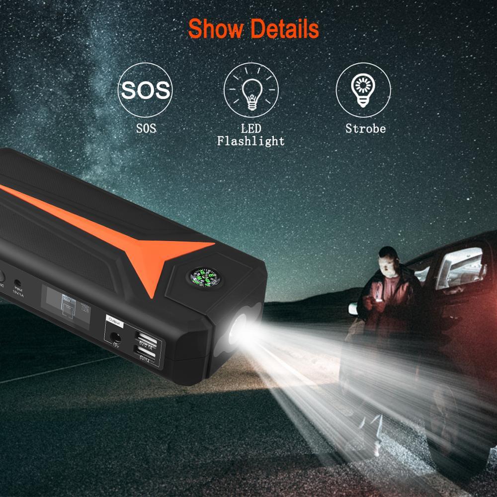 Car Jump power bank Device Vehicle Emergency Start  5
