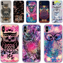 Soft Silicone Funny Owl Phone Case For Cubot P40 P30 X19 R11 J3 Pro P20 Power Nova Note S J5 J7 R15 Pro R19 Max 2 2019 Cover(China)