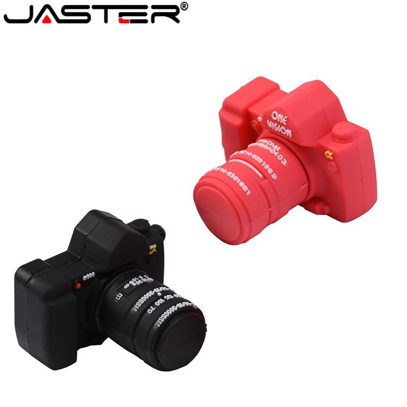 SHANDIA Pendrive Usb Flash Drive 2.0 4gb 8gb 16gb 32gb 64gb Usb Flash Drive Cartoon SLR Camera Usb Memory Usb
