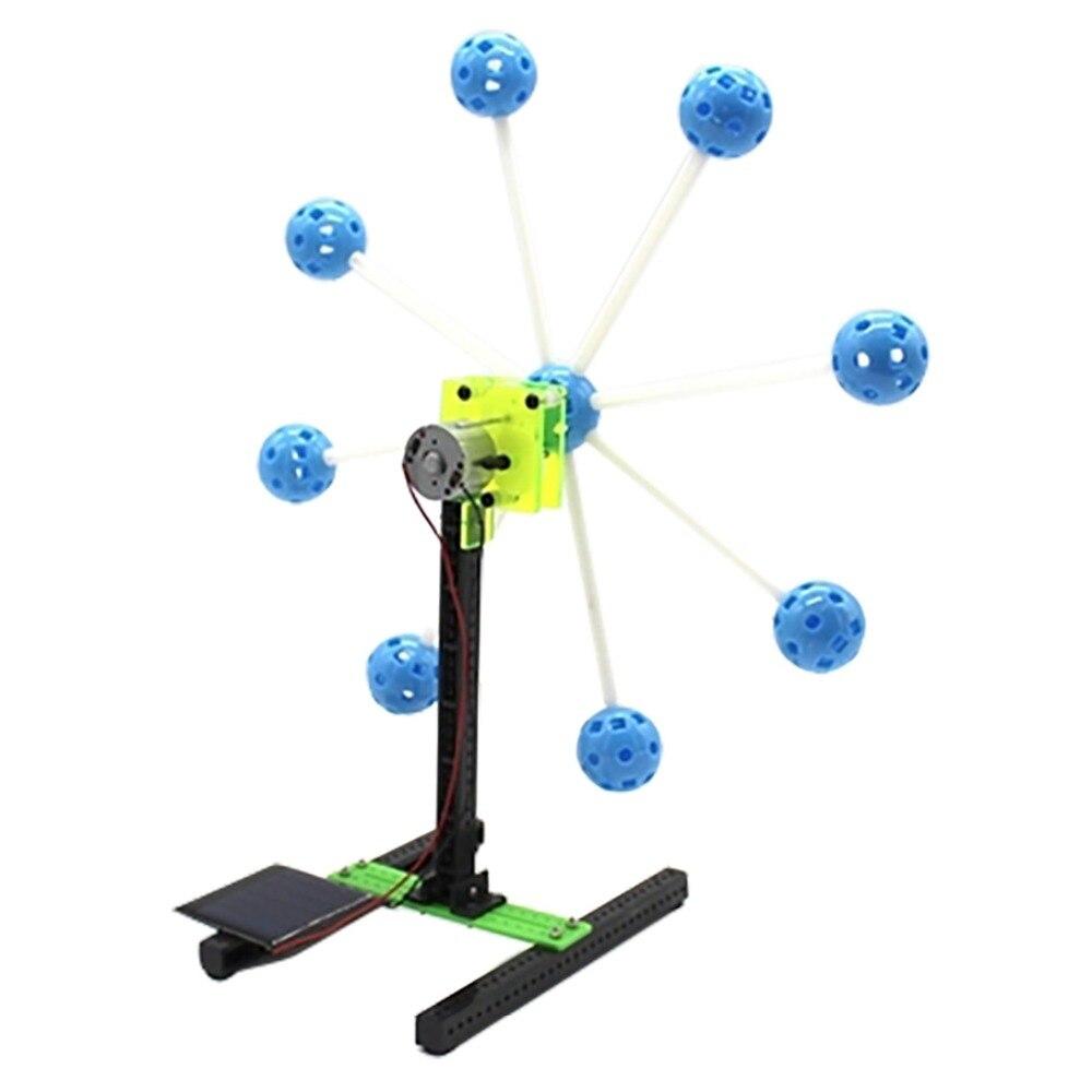 Solar Power Invention Kit Toy Gift Ferris Wheel Building Model Smart Robot Car