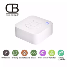 White Noise Machine USB Rechargeable Timed Shutdown Sleep Sound For Sleeping Relaxation Baby Adult Office Travel
