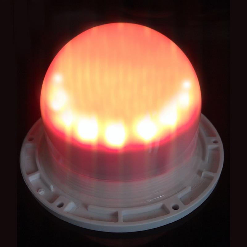 120mm 48 LED světla přímý náboj světelný zdroj osvětlený zdroj světla RGB 16 změna barvy pro ledové koule elektrické části 10ks / lot