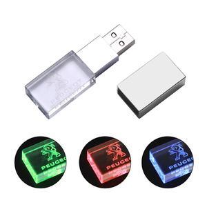 Image 5 - JASTER Peugeot crystal metal USB flash drive pendrive 4GB 8GB 16GB 32GB 64GB 128GB External Storage memory stick u disk