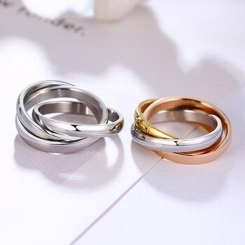 טבעת שלוש שכבות לאירוסין
