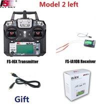 Flysky FS-i6X 10CH 2,4 GHz AFHDS RC I6X Sender Mit iA6B iA10B X6B A8S IA6 Empfänger für RC Hubschrauber Boot drone