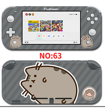 Protector Cover Decal Vinyl Skin Sticker for Nintendo switch lite Console Xenoblade 2 /One Piece sticker