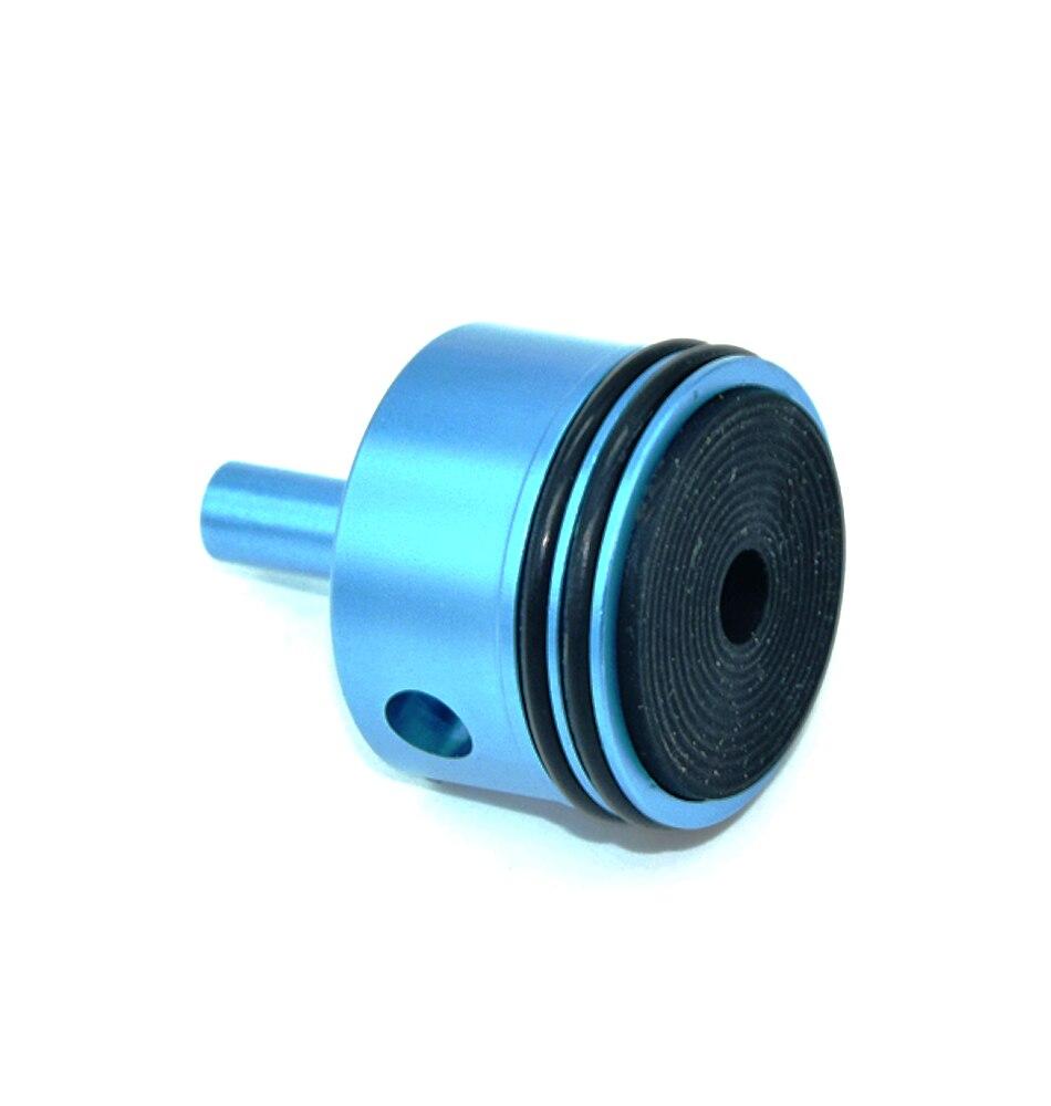 Купить с кэшбэком FightingBro Silent Cylinder Head Piston Head For airsoft Ver.2 Gearbox M4 V3 AEG Accessories Aluminum