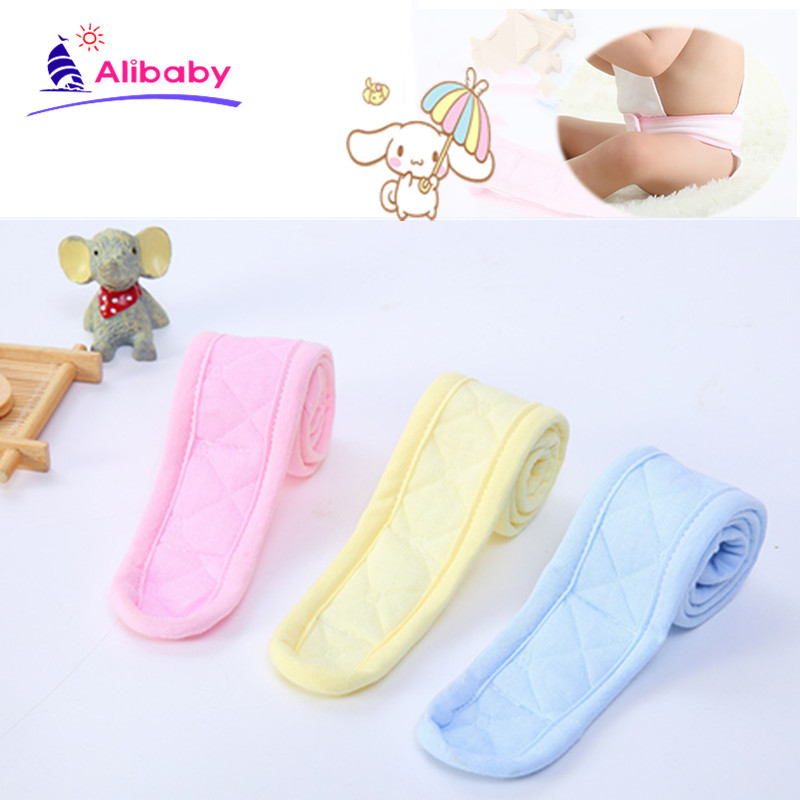 1pcs Infant Baby Newborn Diaper Belt Buckle Baby Diaper Fasteners Kids Fixed Belt Strap