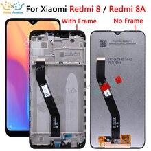 Dla Xiaomi Redmi 8 LCD dla Xiaomi Redmi 8A wyświetlacz LCD ekran dotykowy Digitizer zgromadzenie dla Redmi 8 8A lcd wymiana akcesoria