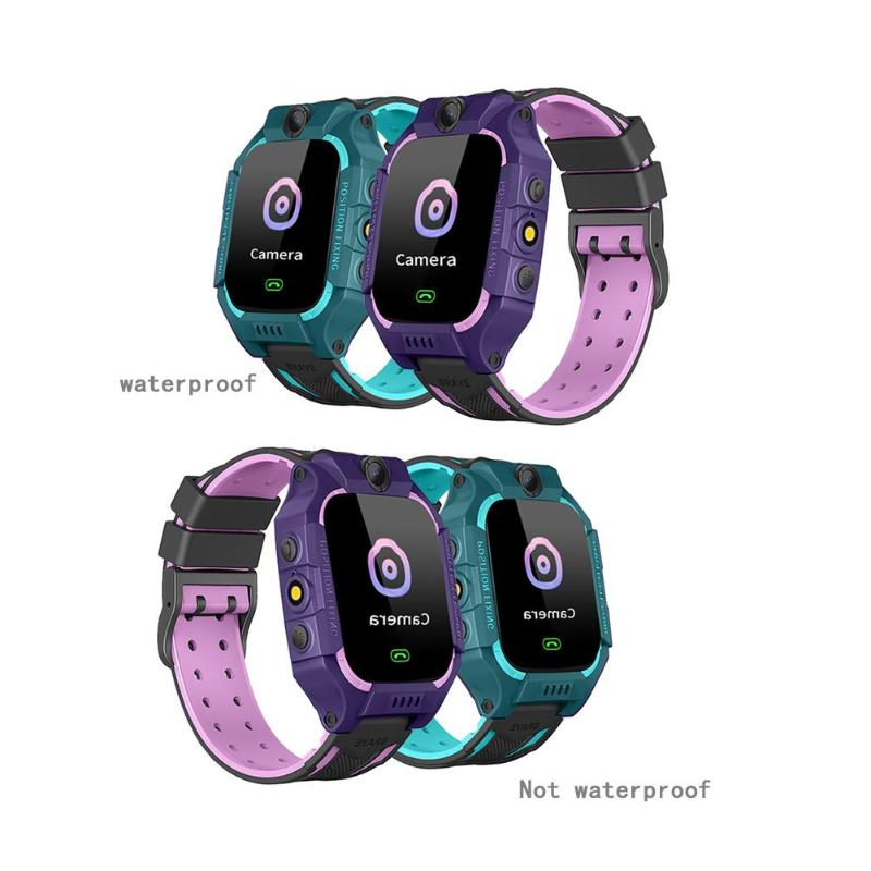 1set Children Smart Phone Watch 1.44 Non/Waterproof Dial Call Voice Android IOS Waterproof LBS Smartwatch Kids Positioning Toy
