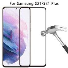 Vidro de proteção para samsung s21 plus 5g protetor de tela temperado vidro na galáxia s 21 21s s21plus filme samsun samsumg sansung