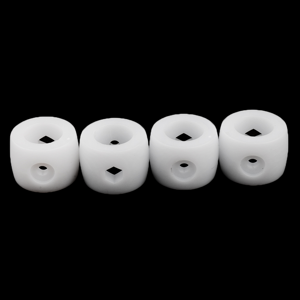 Pack Of 4 Pieces 16mm Foosball Table Bumper Buffer For Table Soccer Fussball Table Accessories