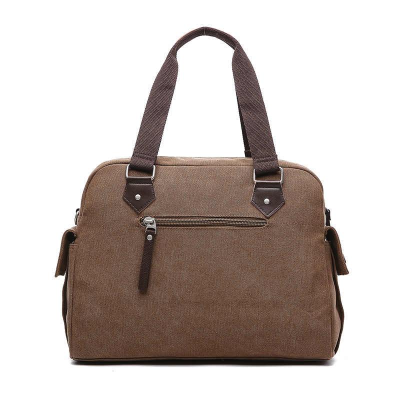 Scione كبيرة الحجم متعددة الوظائف حقيبة قماش قنب حقيبة أعمال الرجال حمل حقيبة حقيبة ساعي حقائب اليد الذكور حقيبة السفر
