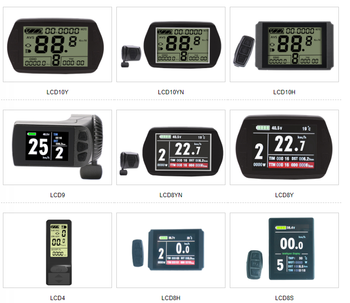 New KT Series Instrument LCD4 LCD10Y LCD10YN LCD10H LCD9 LCD8YN LCD8Y LCD4 LCD8H LCD8S Electric Bicycle Control Smart LCD Screen