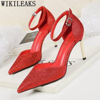 Tacones altos plateados, Zapatos Mary Jane De noche, Zapatos De San Valentín,...