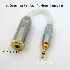Image 4 - Original DUNU 2,5mm hembra a 4,4mm macho adaptador equilibrado de alta fidelidad auricular equilibrado interfaz de Audio para reproductor Sony