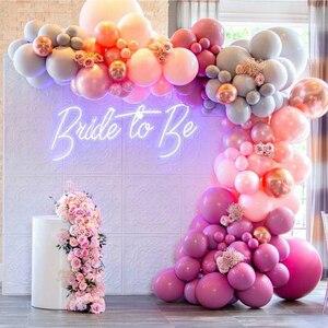 Неоновые вывески для невесты на заказ, светодиодные светильники, вечерние настенные окна для магазина, ресторана, украшения на день рождени...