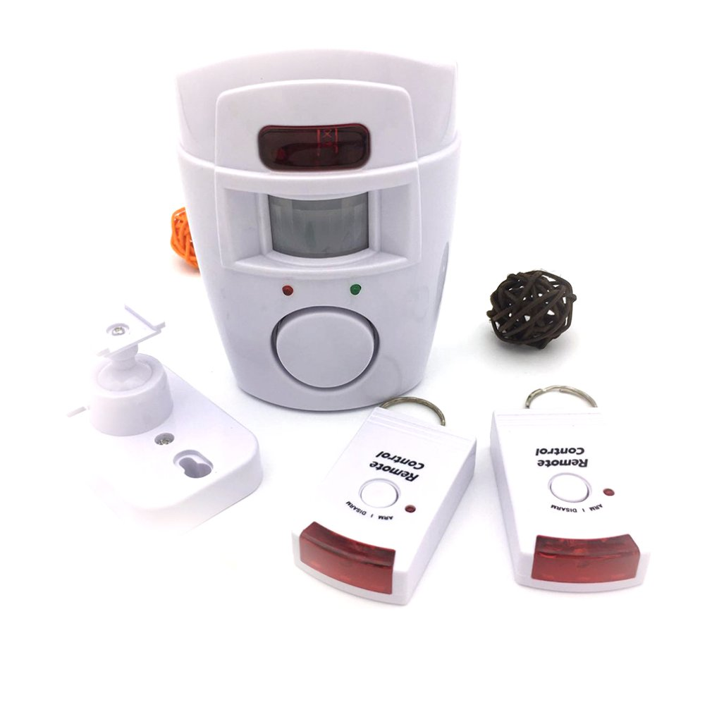 Remote Infrared Alarm Home Infrared Alarm Door And Window Alarm (color Box)