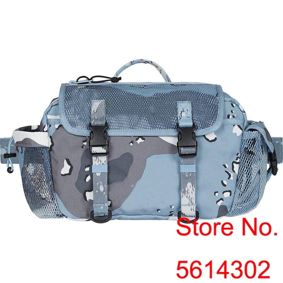 Hot Sale Camouflage Messenger Bag Men Women 2020ss Sureme Top Version Mesh Surface Shoulder Bags Men