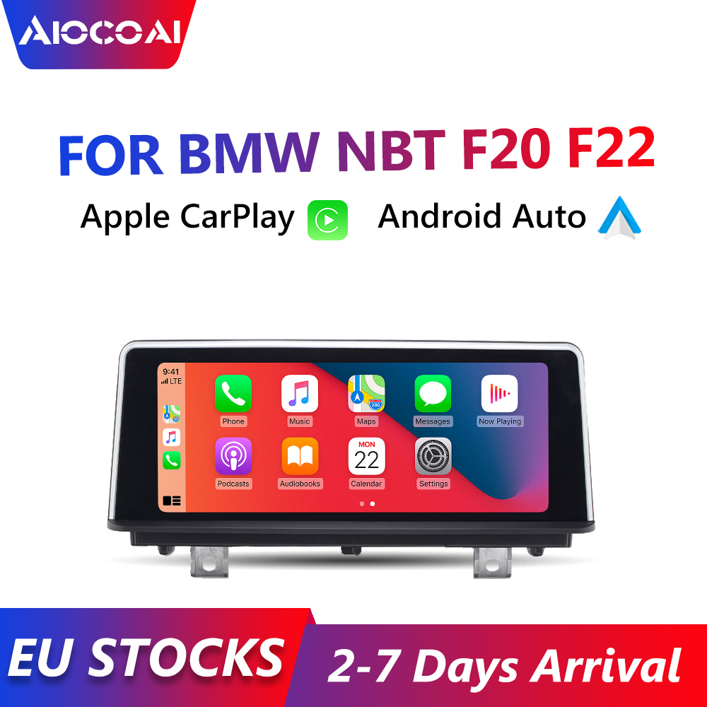 Автомагнитола Apple CarPlay, 8,8 дюйма, Android, для BMW F20 F22, Iphone