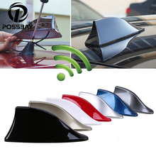 POSSBAY سيارة القرش زعانف هوائي راديو تلقائي إشارة هوائيات سقف هوائيات لسيارات BMW/هوندا/تويوتا/هيونداي/VW/كيا/نيسان التصميم