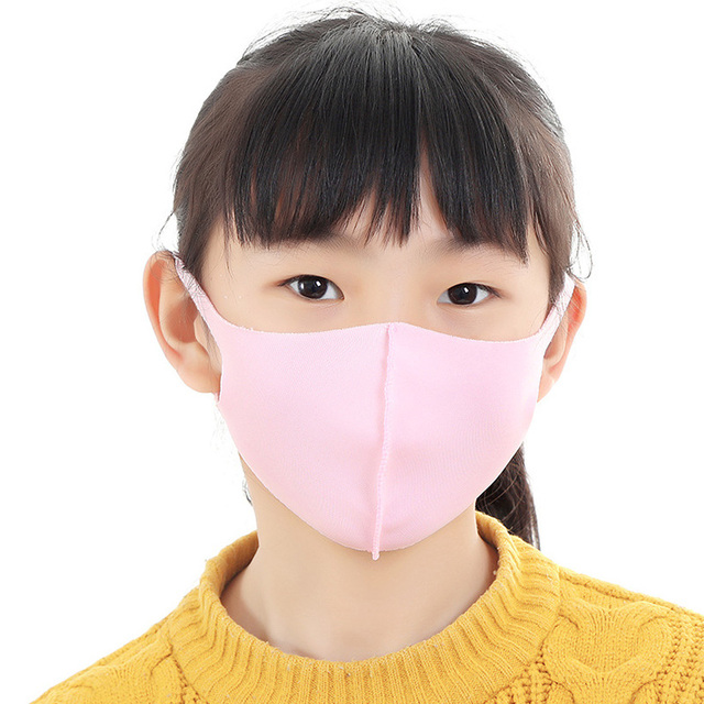 Kids Children Mouth Mask Anti Dust Mask Activated Carbon Windproof Mouth-muffle Bacteria Proof Flu Face Masks