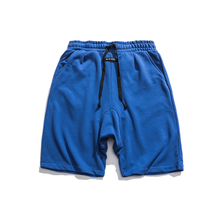 2021 summer Japanese tooling youth casual pants men's three-color leather standard harem pants straight shorts men