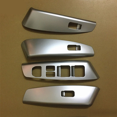 4PC FIT FOR HYUNDAI 11-13 IX35 CHROME DOOR WINDOW SWITCH COVER TRIM INNER