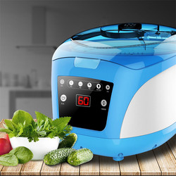 220v Fruits Vegetables Disinfection Purification Tools Washing Machine Disinfector kitchen Home Multifunction Food Machining