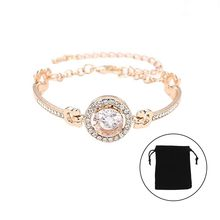 New Women Retro Beautiful Elegant Silver Chain Bracelet Flower Hollow Out Bracelet For Women Lady Fashion Lady Jewelry gift(China)