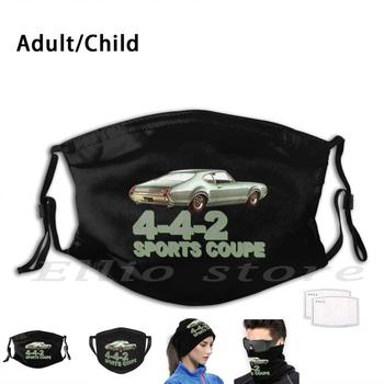 Oldsmobile 442 1969 442 Sports Coupe Adult Kids Pm2.5 Filter Mask Scarf Mask Oldsmobile Olds Cutlass Oldsmobile Cutlass image