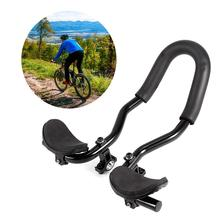 QIXIN Bicycle Support armrest Triathlon Mountain Bike Road Bike Handlebar Bicycle Rear seat armrest Accessories Extended Version