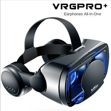 Headset Glasses Virtual-Reality Video Mobile-Phone Vrg-Pro 5--7inch 3D Audio Detachable