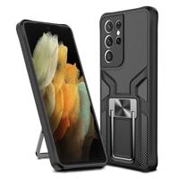 Custodia per telefono antiurto per Samsung Galaxy S21 Ultra Note 20 S20 Plus custodia protettiva per fotocamera custodia magnetica A12 A32 A52 A72