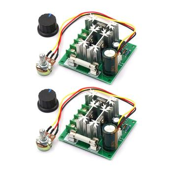 Upgraded 6V-90V 15A DC Motor Pump PWM Speed Controller 16KHZ Regulator Module Board image