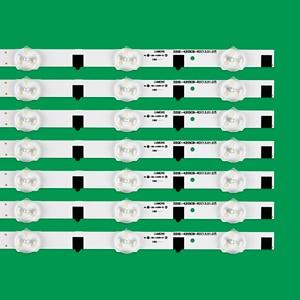 Image 2 - 14pcs/set LED backlight strip for Samsung UE42F5300 D2GE 420SCB R3 D2GE 420SCA R3 2013SVS42F CY HF420BGAV1H BN96 25306A 25307A