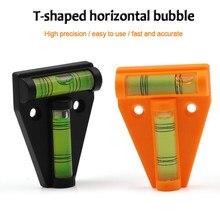 2 pcs Precision Spirit Bubble Nível de bolha circular Green Round Bullseye Nível Quadrado Bolha horizontal nível de bolha de precisão nível de bolha redondo nível de bolha de escopo Nível de bolhas espírito definido