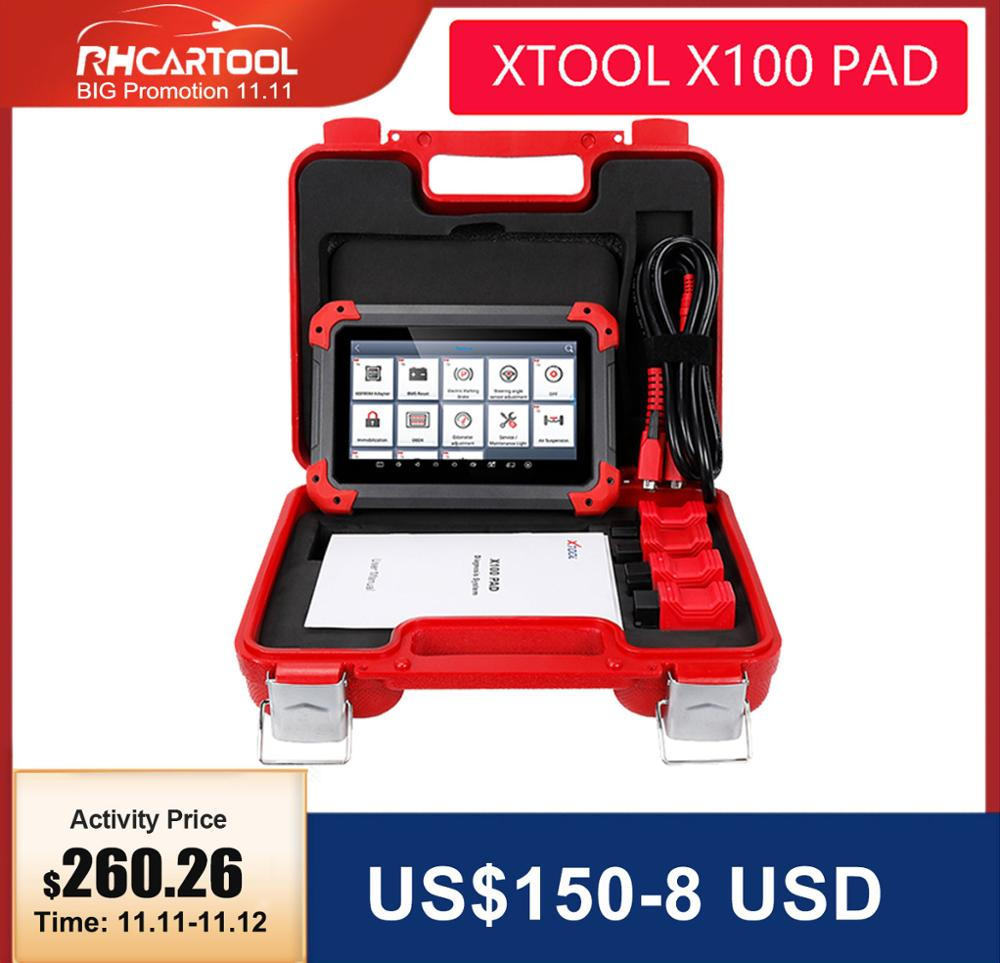 OBD2 XTOOL X100PRO2  X100 PAD Auto Car Key Programmer With Oil Rest Tool And Odometer Adjustment X100PAD 100percent Original