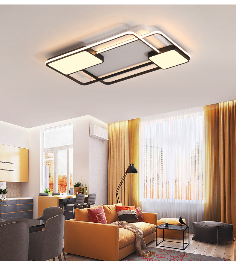 He57ab66407c94af793ccdaf231a0263a7 New design LED Ceiling Light For Living room Dining Bedroom luminarias para teto Led Lights For Home lighting fixture modern