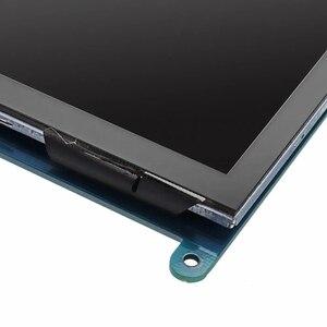 Горячие Продажа Новые 7 дюймов HD IPS емкостный ЖК-дисплей Дисплей сенсорный Экран ЖК-дисплей 800*480 HDMI TFT монитор для Raspberry Pi 3 Model B/ 2B/ B для win10/8