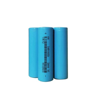 Factory selling 18650 cell battery 7.5A current 3.7V 2Ah 3C high rate 18650 batteries