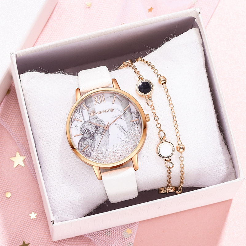 Wrist Watches Ladies Luxury Rose Gold Bracelet Quicksand Dial Dress Quartz Watch Clock Women's Wristwatch Gift Reloj Mujer
