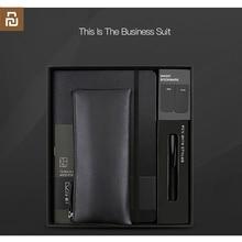 Nowy xiaomi youpin kinbor garnitur długopis notebook zakładki piórnik biurowe prezent garnitur praktyczne wysokiej jakości