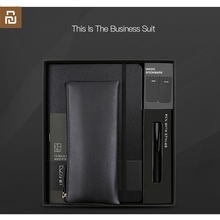 youpin kinbor business suit pen notebook Bookmarks Pencil case  Office gift suit Practical high quality