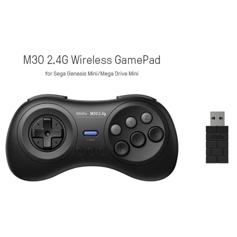 2.4g controlador sem fio mini portátil recarregável