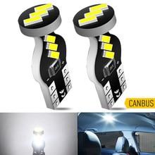 2x t10 w5w lâmpada led canbus nenhum erro luz interior do carro para alfa romeo 159 147 156 giulietta mito vw golf 4 5 7 6 mk7 mk5 branco