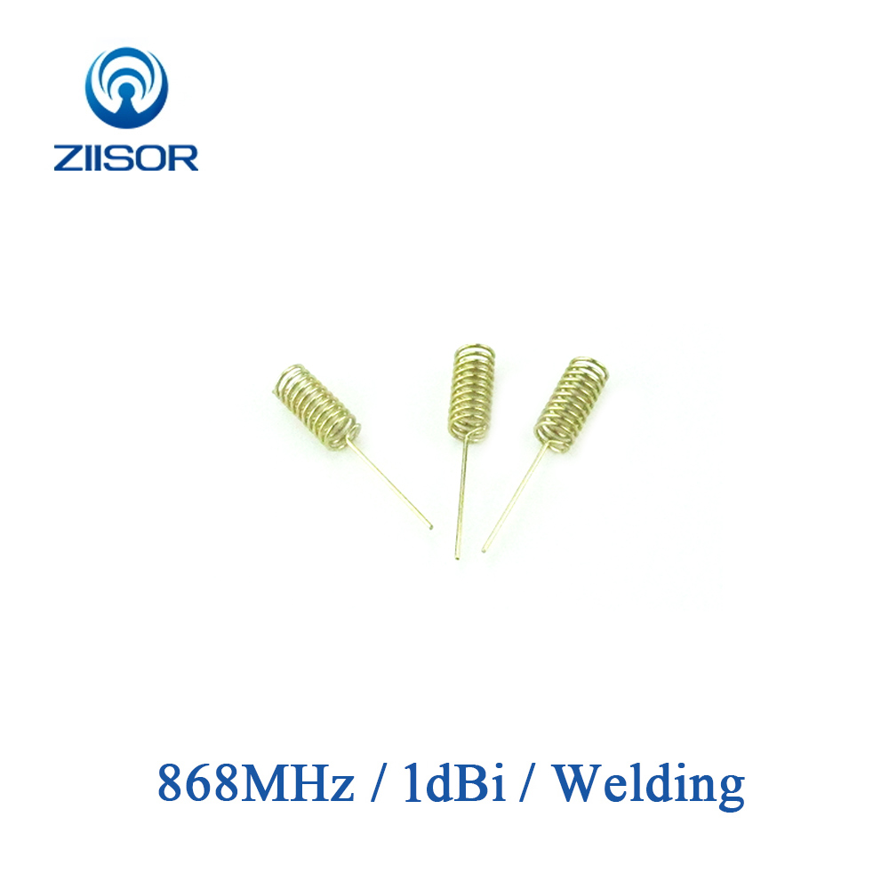 Internal 868MHz Lora Antenna Copper Helical Spring Antena Omnidirectional Zigbee Wireless Module Remote Control Z82-C868HJ