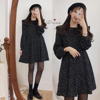 S-XL de talla grande para mujer, Vestido bohemio Vintage de manga larga,...