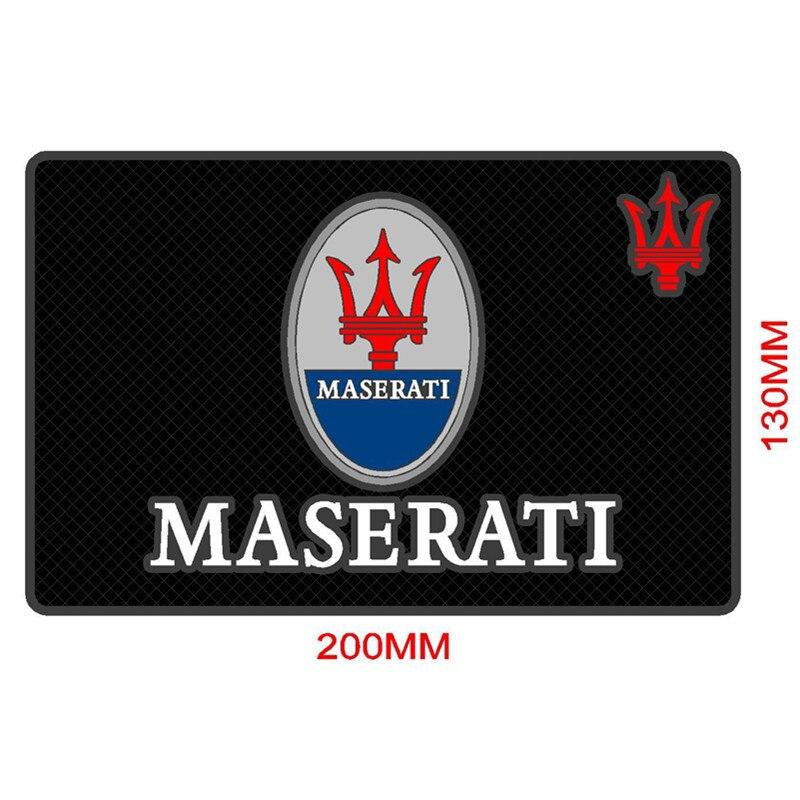 Автомобильный Стайлинг, наклейка, эмблемы, Противоскользящий коврик, чехол для Maserati Quattroporte ghiдоступ, грантуризм Gran Cabrio Levante, аксессуары