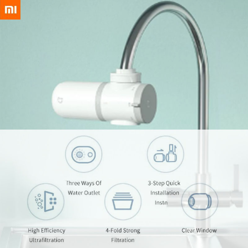 2020 In Stock Xiaomi Mijia Faucet Water Purifier Bathroom Water Filter Faucet For Kitchen